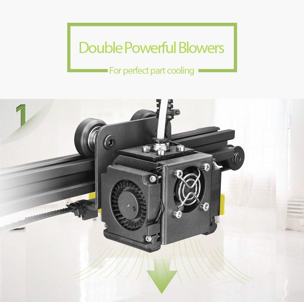 TEVO 2018 Newest Michelangelo 3D Printer Impresora 3D Fully ...
