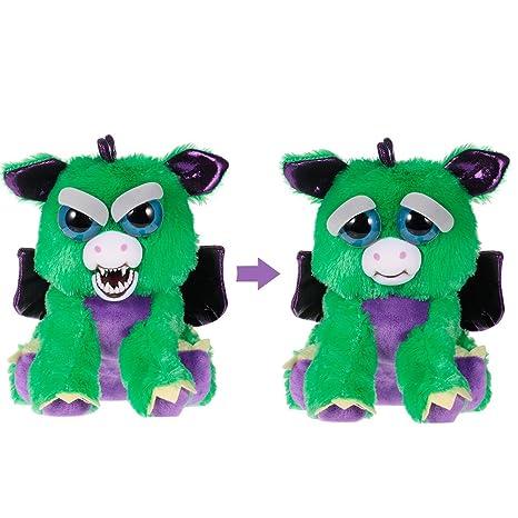 f79d8f6510023 Goolsky Feisty Pets Ferdinand Flamefart Feisty Films Adorable peluche de  peluche de juguete Dragon se convierte