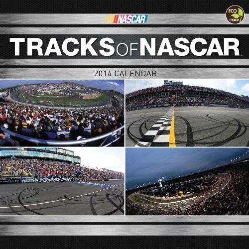 2014 Tracks of NASCAR Wall Calendar by TF Publishing