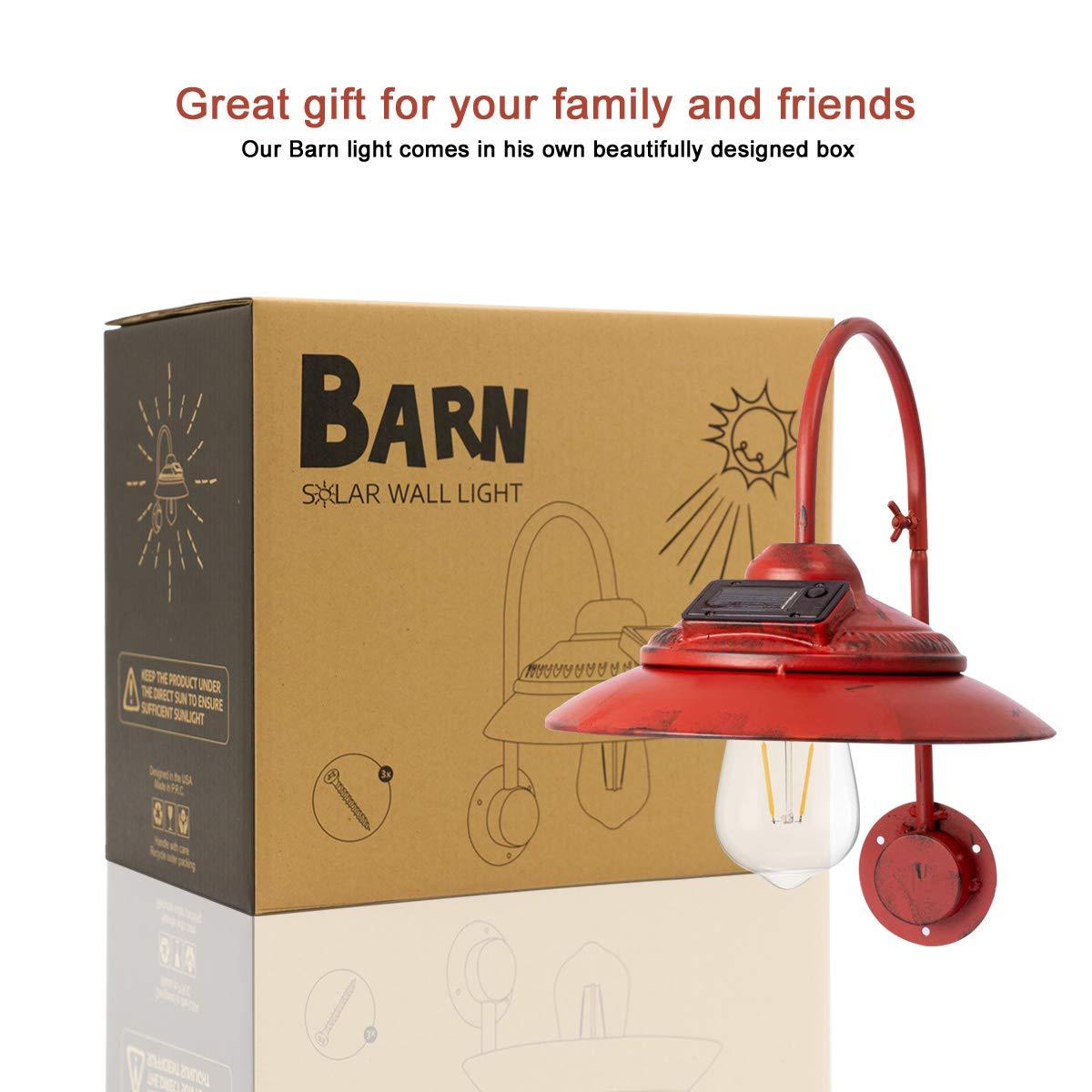 Goodeco Solar Barn Light