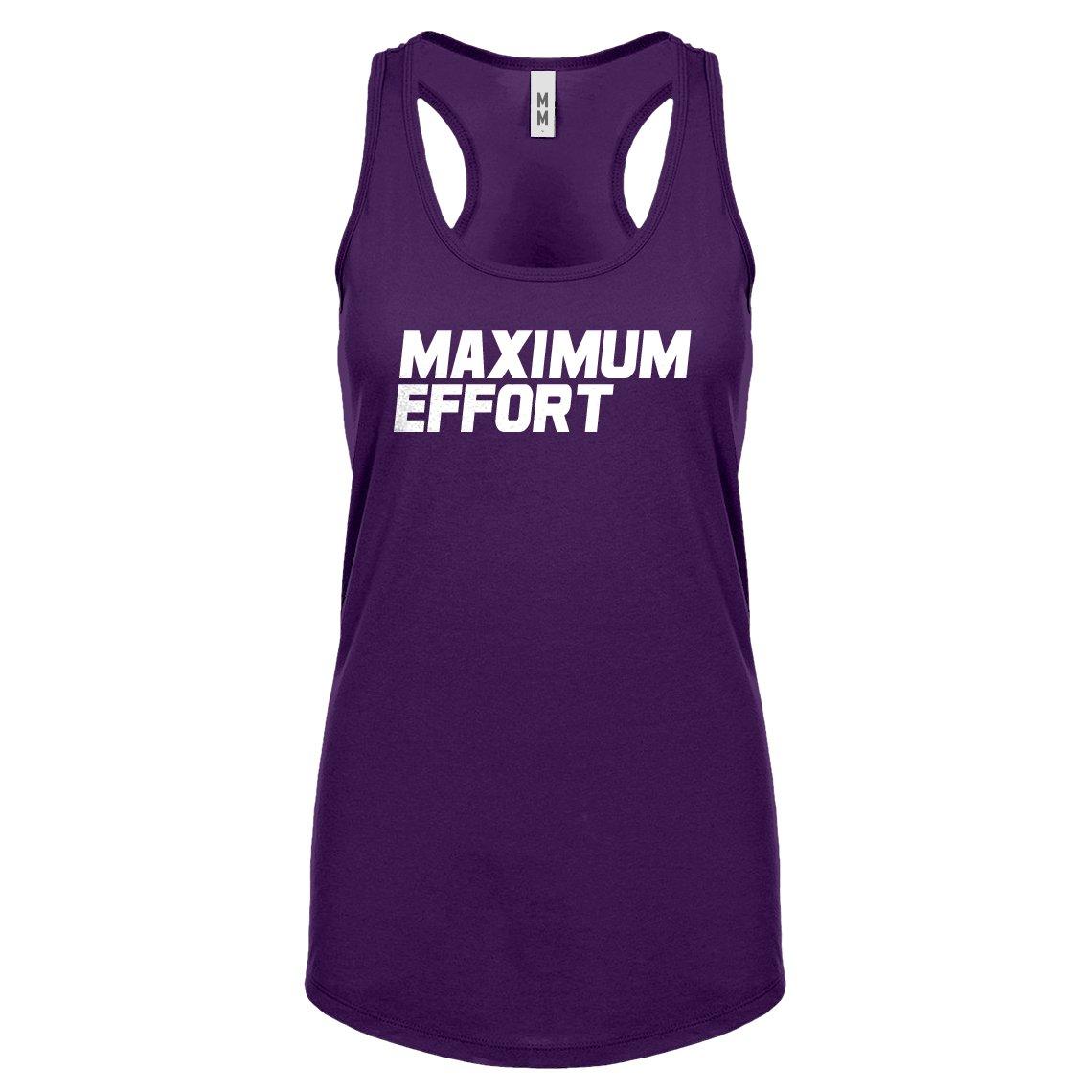 Indica Plateau Womens Maximum Effort Racerback Tank Top