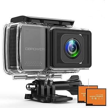 Amazon.com: DBPOWER EX7000-PRO 4k cámara de acción: Camera ...