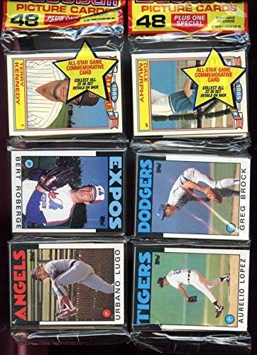 1986 Topps Baseball Card Set 12 Rack Pack = Wax Box CASE FRESH