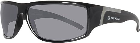 Time Force TF40003 Gafas de sol, Negro, 66 para Hombre
