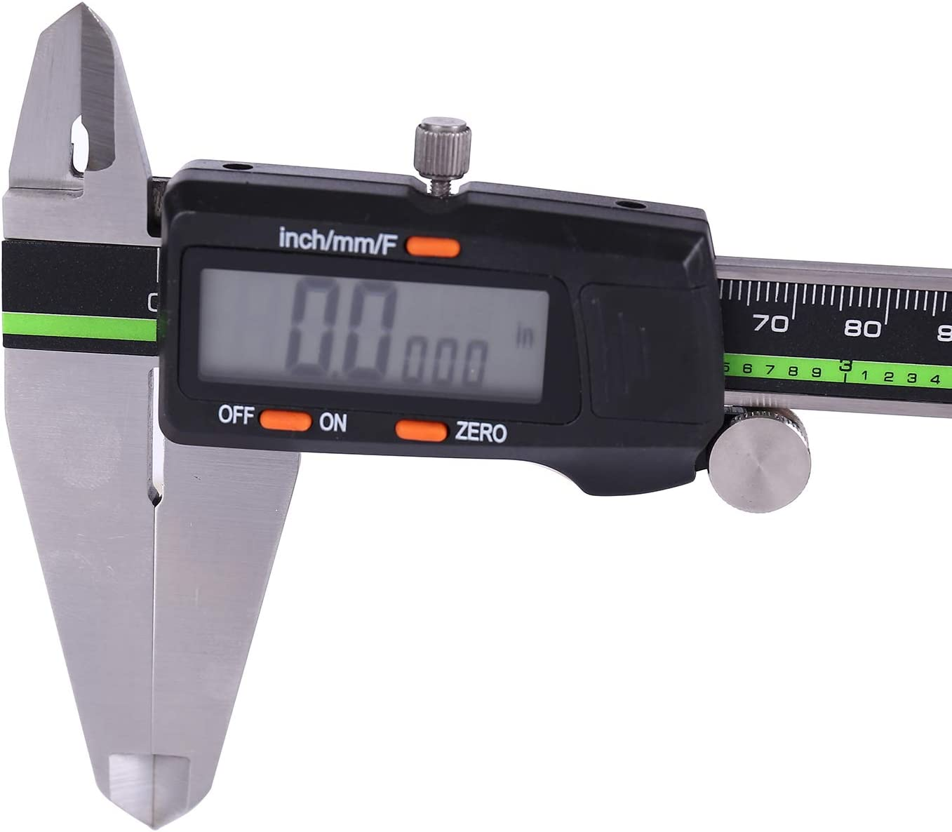 Digital Caliper Stainless Steel with Large LCD Screen 12 Inch Millimeter Fractions Conversion Sattiyrch Electronic Vernier Caliper Measuring Tool 12 inch new LCD