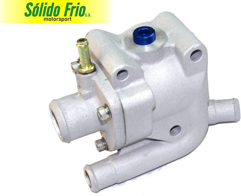 Cast Aluminum Thermostat Housing compatible w//Zetec Ford Focus Escort Contour Escape Cougar ZX2 SVT 95-04