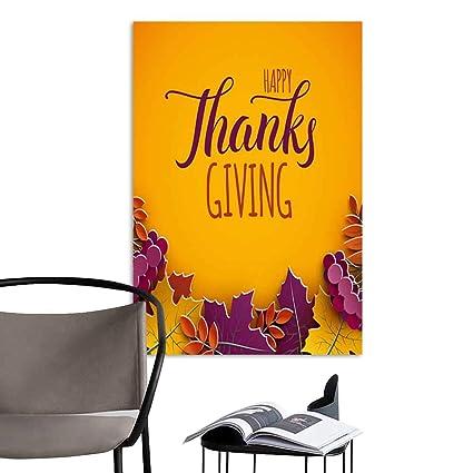 Cool Amazon Com Art Painting Home Modernthanksgiving Greeting Download Free Architecture Designs Meptaeticmadebymaigaardcom