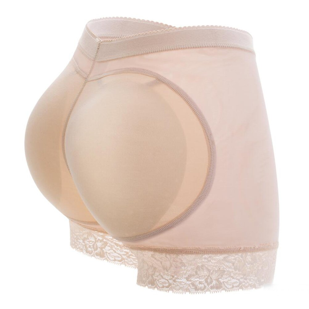URPLITY Fake Butt Lifter Padded Panties Hip Enhancer Shaper Control Underwear Tummy Control Breathable Buttock Briefs Seamless Shapewear Curve Enhancing Boyshort for Women