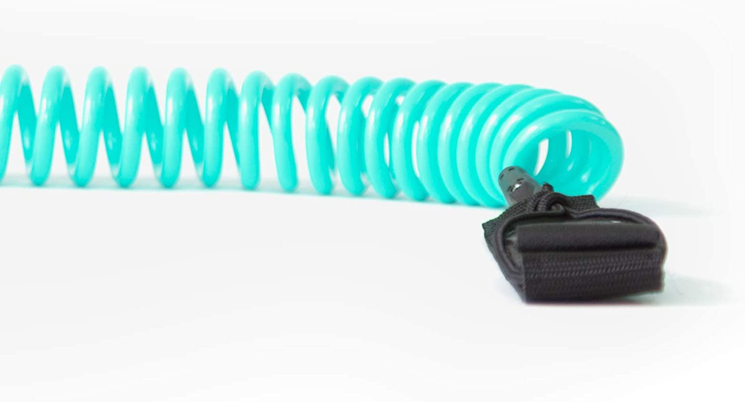 Retrospec Helix 10 Coiled Leash for Stand Up Paddleboarding