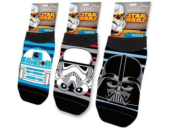 2017/12/27 Calcetines Star Wars Talla 23-26 O 27/30 Surtido A Elegir 1: Amazon.es: Ropa y accesorios