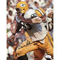 $47 » Autographed Dave Robinson (Green Bay Packers) Photo - 8x10 COA - JSA Certified - Autographed NFL Photos