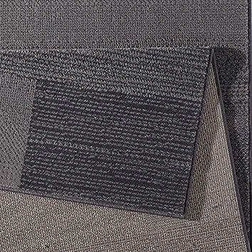 Short Pile Grey Velour Design Rug Marble Polypropylene Cacao black 80 x 150 cm Taupe Brown