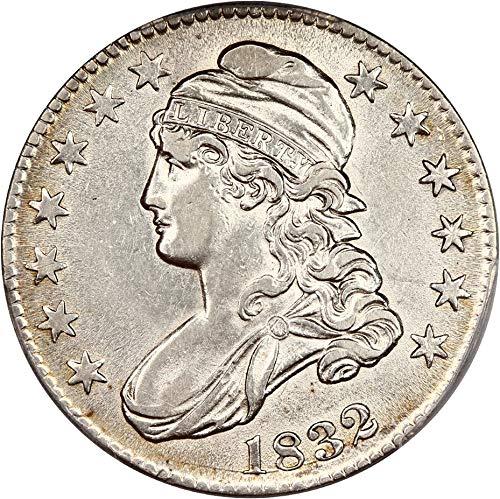 (1832 P Bust Half Dollars Small Letters Half Dollar 92 PCGS)