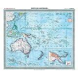 General-Karte von Australien und der Südsee, 1903 [Plano-Reprint]: Carl Flemmings Generalkarte, No. 42.