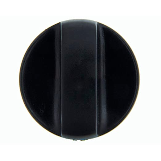 Recamania Mando Grifo Gas encimera Fagor Negro diametro Eje 6 mm ...