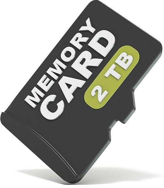 Amazon.com: Tarjeta de memoria microSD de 2 TB (2048 GB ...