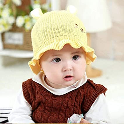 8e4502eeb33 Amazon.com  Gallity Clearance ! 2-12 Months Baby Hat Foldable Knit ...