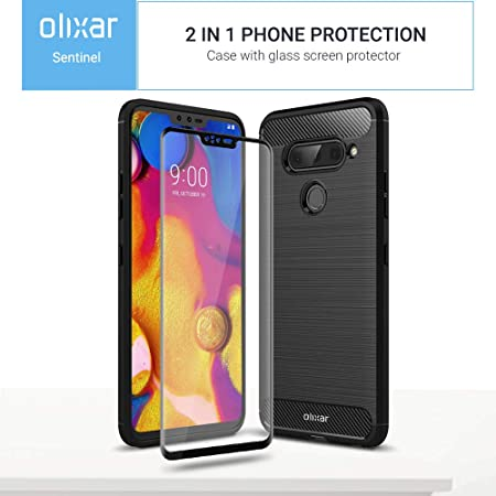 Olixar - Carcasa rígida para LG V40 ThinQ (con Protector de ...