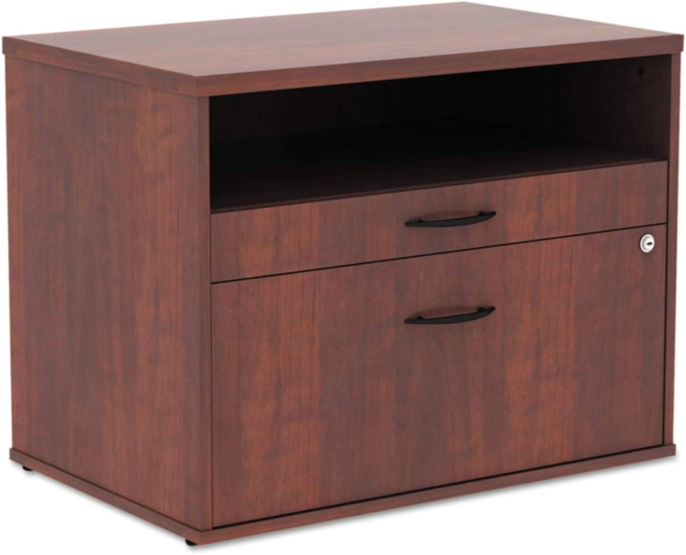 Alera LS583020MC Open Office Series Low File Cab Cred, 29 1/2x19 1/8x22 7/8, Med. Cherry