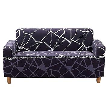 JITIAN Settee Lid Pattern Elastic Stretch Bedrooml Fundas de ...