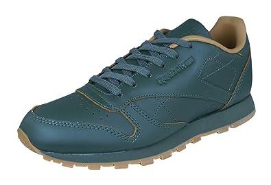 138c31eb2f7 Reebok Classic Leather Kendrick Lamar Kids Sneakers Shoes -Olive-3.5