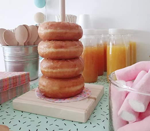 Tabla para donuts. Mesas Dulces. Bautizos, comuniones, bodas ...