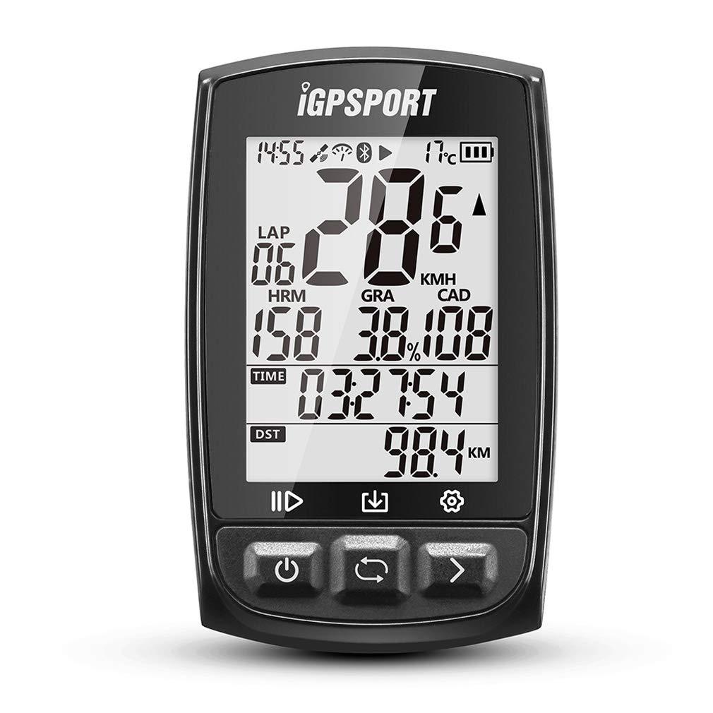 雑誌で紹介された iGPSPORT iGS50E ブラック GPS自転車コンピュータANT+機能付き iGPSPORT 大画面サポートのサイクルコンピュータハートレートモニタとスピードケイデンスセンサ接続 B07PS4J815 ブラック B07PS4J815, 株式会社セツビコム エアコン館:cfe29f80 --- albertlynchs.com