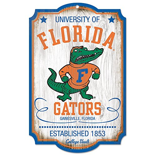 Wincraft Florida Gators College Vault Wood Sign