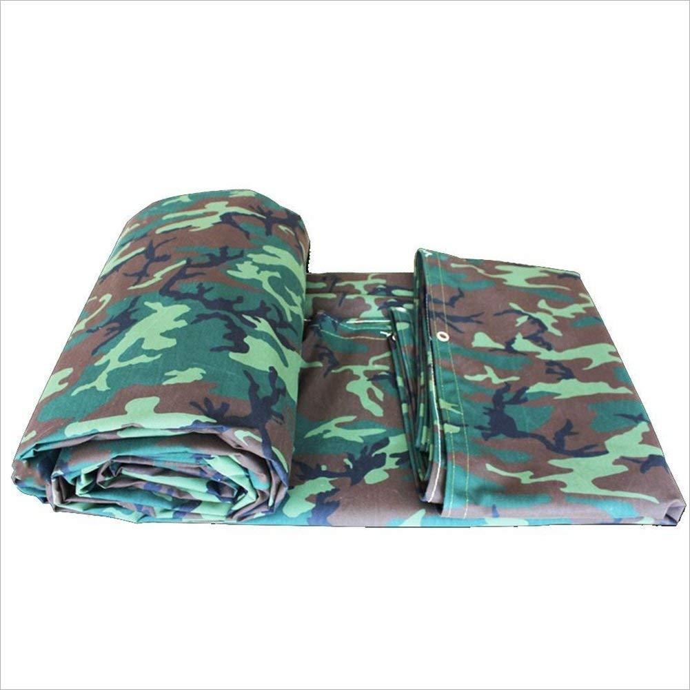 Outdoor praktische Zeltplane Regenfestes Tuch wasserdicht Camouflage Plane Industrielle Plane Outdoor Sonnenschutz staubdicht winddicht und verschleißfest Tier und Pflanze Anti-Creme und Anti-Oxidatio
