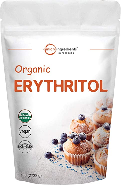 Organic Erythritol Granules, 6 Pounds