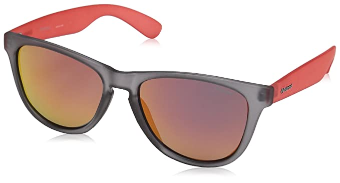 Polaroid P8443 OZ 268, Gafas de sol Unisex Adulto, Gris Red/Grey, 55: Amazon.es: Ropa y accesorios