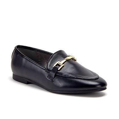 Jaime Aldo Womens Hoppy-1 Horse Bit Slip On Flat Loafer Shoes,