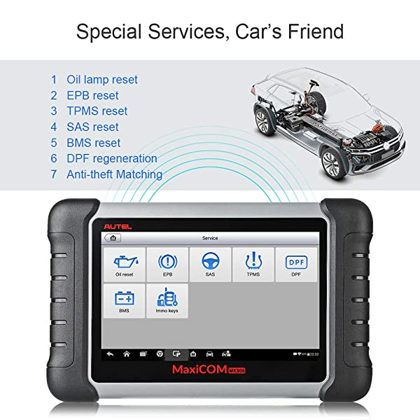 The Autel MaxiCOM MK808 is an equally powerful, incredible tool and for many the best professional automotive diagnostic scanner.