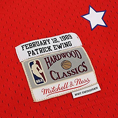 Mitchell   Ness Patrick Ewing 1989 NBA All Star East Swingman Red Jersey  Men s. Loading Images... Back. Double-tap to zoom 2926718b0