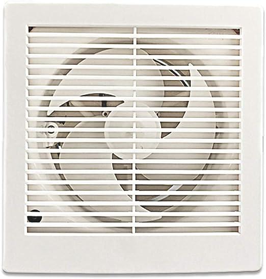 Ventilación Extractor Ventilador de extracción montado en la pared Ventiladores extractores de ventana domésticos Ventilador de ventilación silencioso Ventilador de baño, 6 pulgadas for inodoro de coc: Amazon.es: Hogar