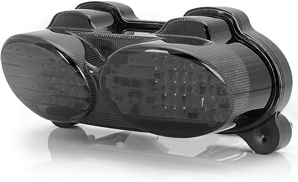 Amazon.com: Humo integrado 90 LED Blinker cola luz de freno ...
