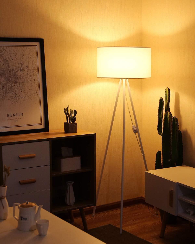 Tomons Stehlampe Led Dimmbar Wohnzimmer Stehleuchte Moderne Mit