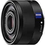 Sony SEL-35F28Z Zeiss Weitwinkel Objektiv (Festbrennweite, 35 mm, F2,8, Vollformat, geeignet für A7, A6000, A5100, A5000 und Nex Serien, E-Mount) schwarz