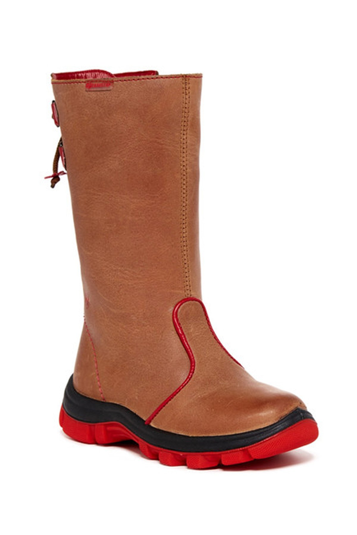 Naturino Yule FW13 Boot (Toddler/Little Kid),Bark/Rosso,26 EU SIZING(10 M US Toddler) by Naturino