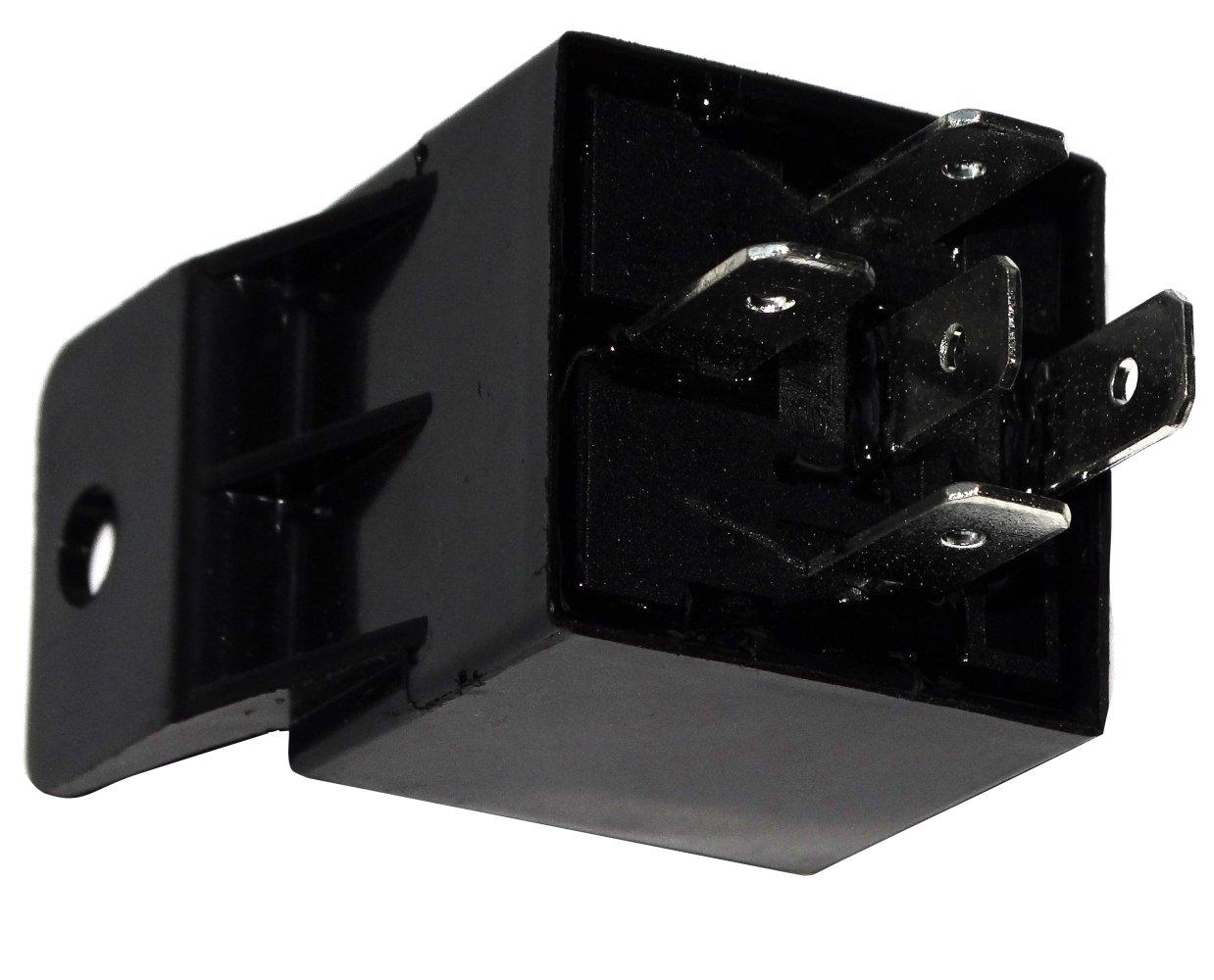 Aerzetix Relai SPDT 12V 40A//30A 5 pin broches /électromagn/étique pour auto voiture
