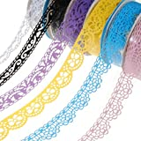 Plastic Hollow Lace Decorative Sticker Adhesive Tape .