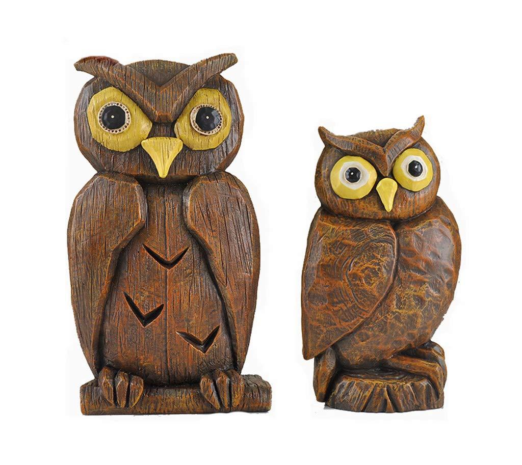 INTER FAST Owl Creative Petite Décoration Chambre Chambre Chambre Meubles Décoration Ornements (Set) (Color : White)