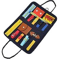 Peuter Busy Board Montessori Basisvaardigheden Activity Board Portable Early Basic Life Skills Activity Board Voor…
