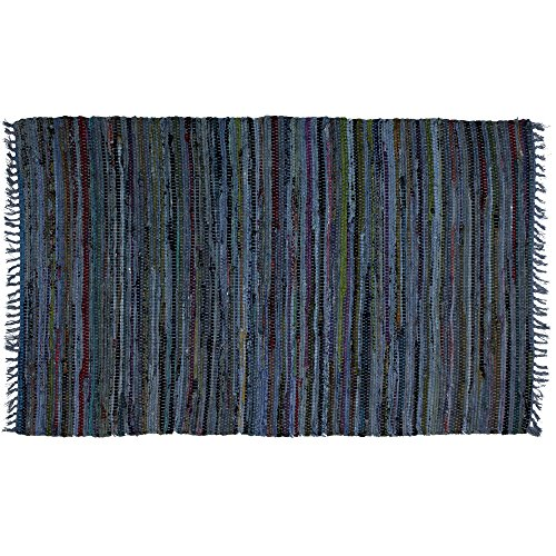 Country Rag Rugs in Denim 2' x 3'