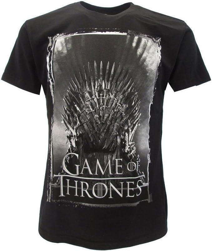 T-Shirt Camiseta Trono DE Hierro Serie de Televisión Juego DE ...