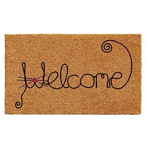 Home & More 102521729 Kitty Curlicue Doormat 17