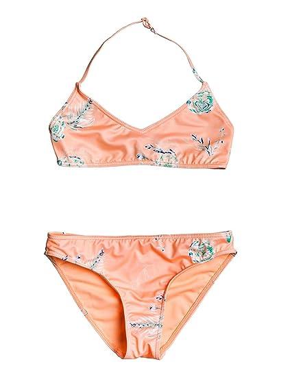 d6268e2083 Roxy Darling Girl - Ensemble de Bikini Bralette pour Fille 8-16 Ans  ERGX203189: Roxy: Amazon.fr: Vêtements et accessoires