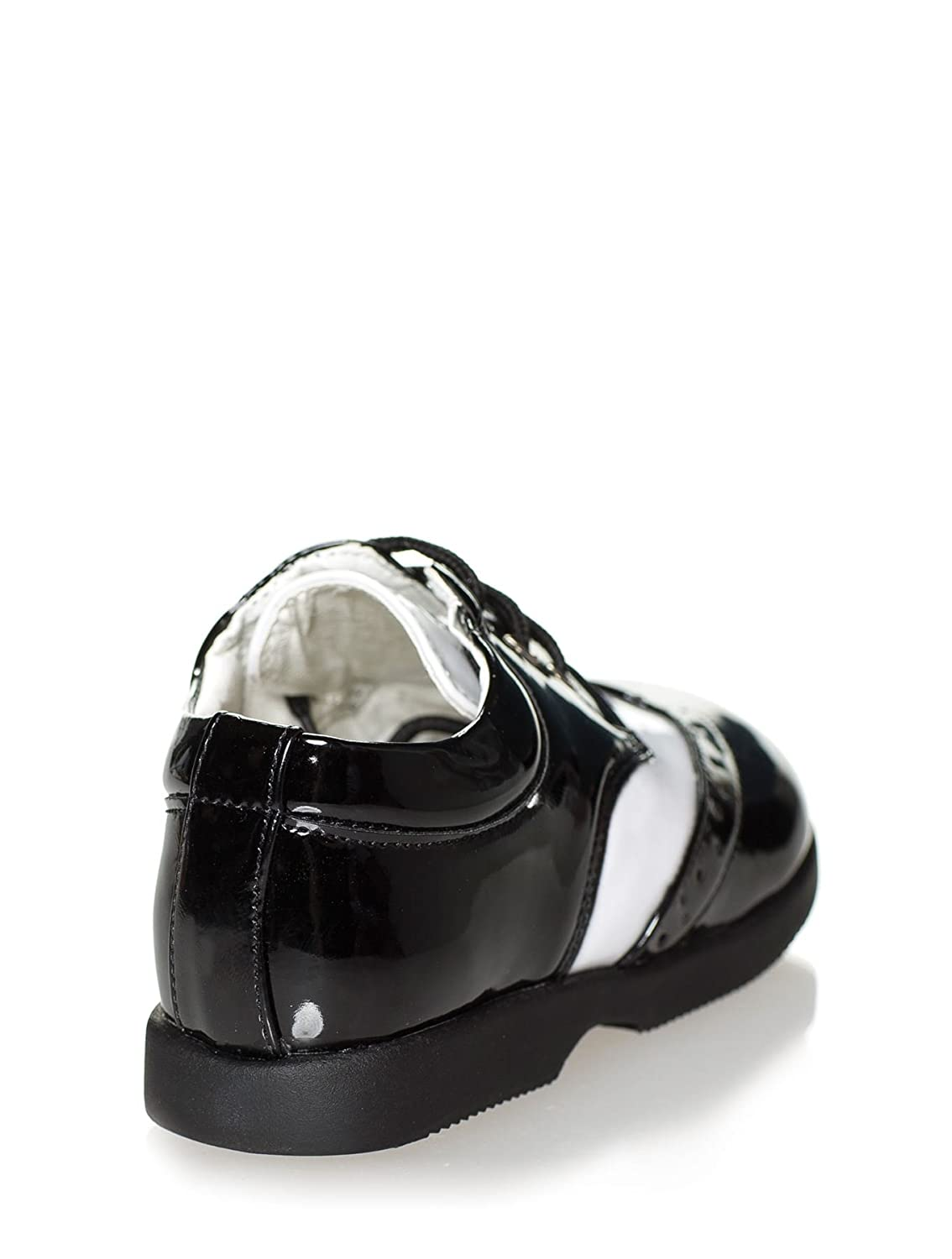 Page Boy Shoes Boys Black /& White Shoes Infant 8 Paisley of London Baby Boys Shoes Infant 1
