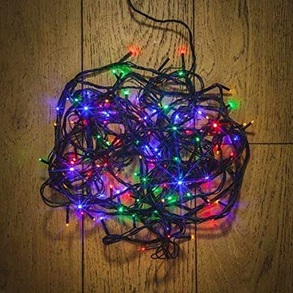 noma indoor outdoor 720 led multi function christmas lights multi coloured by noma