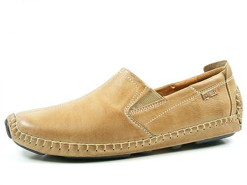 Pikolinos Jerez 09Z-3043V Zapatos Mocasines de cuero para hombre, schuhgröße_1:46 EU;Farbe:beige: Amazon.es: Zapatos y complementos